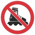 Kustība ar skrituļslidām aizliegta