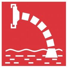 Atklātu un slēgtu ūdens tilpņu ūdens ņemšanas vieta